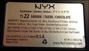 NYX Sahara