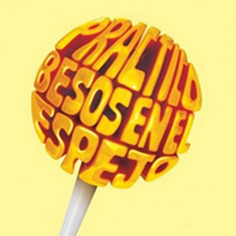 Publicidad hecha con tipografía