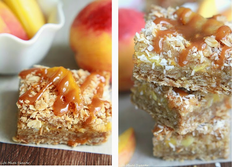 Coconut Peach Streusel Bars Collage 2 - Life Made Sweeter.jpg