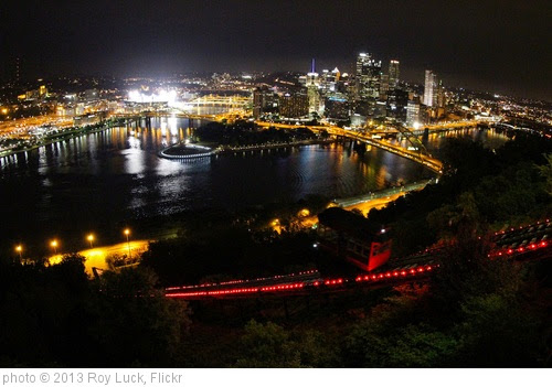 'Pittsburgh at night' photo (c) 2013, Roy Luck - license: https://creativecommons.org/licenses/by/2.0/
