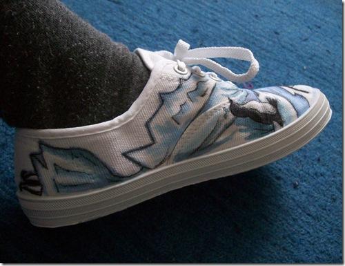 Gemsville Penguin Shoes side
