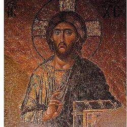 43 - Mosaico con Pantocrato de Santa Sofia de Constantinopla