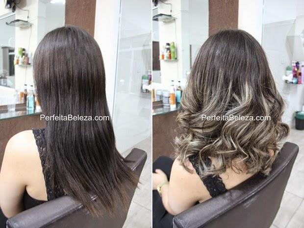 antes e depois de ombre hair na touca, ombre hair, cabelo lindo