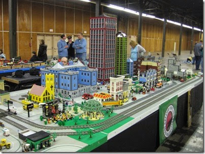 IMG_0168 Greater Portland Lego Railroaders Layout at the Great Train Expo in Portland, Oregon on February 16, 2008