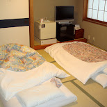 japanese style beds in Kyoto, Kyoto, Japan