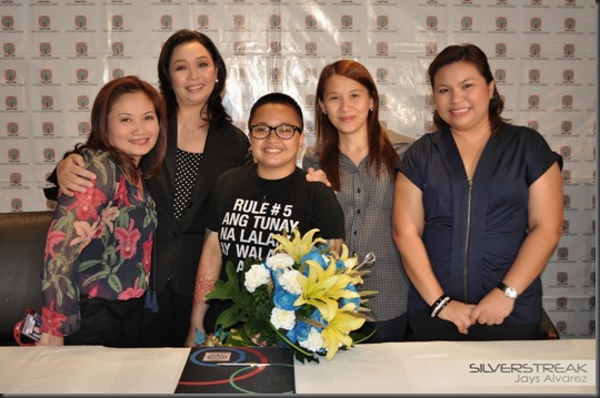 01 Joyce Liquicia (Business Unit Head), Ms. Cory Vidanes (Head, Channel 2) Aiza Seguerra, Ginny Ocampo (Business Unit Head) & Annabelle Regalado-Borja (Manager, Aiza)