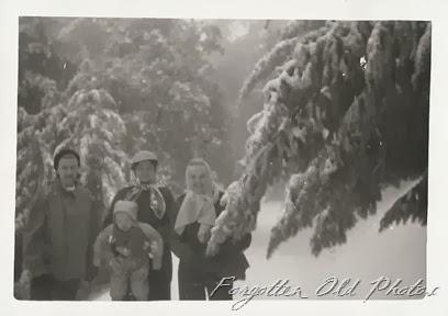Snowy Scene Family 2 DL Ant