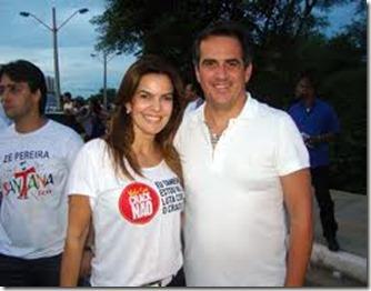 Ciro Nogueiro e a esposa