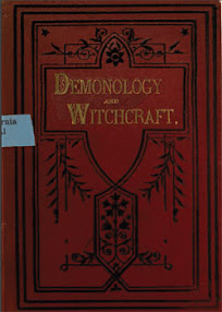 Cover of Walter Scott's Book Demonology And Witchcraft