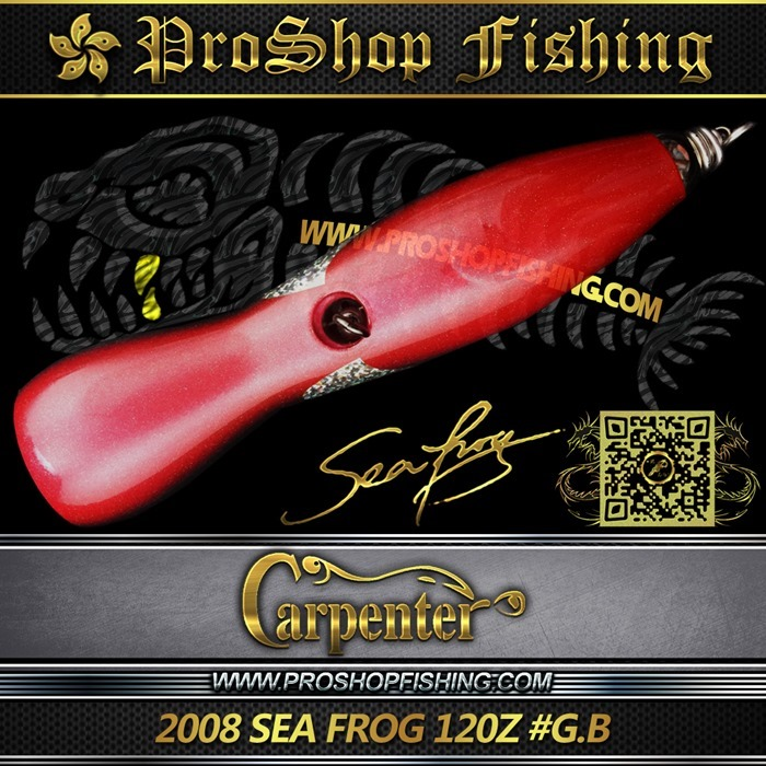 carpenter 2008 SEA FROG 120Z #G.B.4