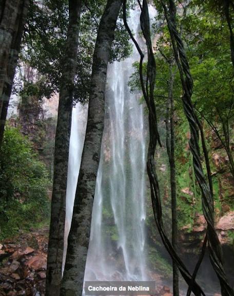 Cachoeira da Neblina. Colider (Mato Grosso, Brésil), avril 2011. Photo : Cidinha Rissi