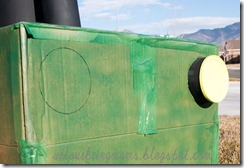 we love being moms cardboard tractor tutorial. Black Bedroom Furniture Sets. Home Design Ideas