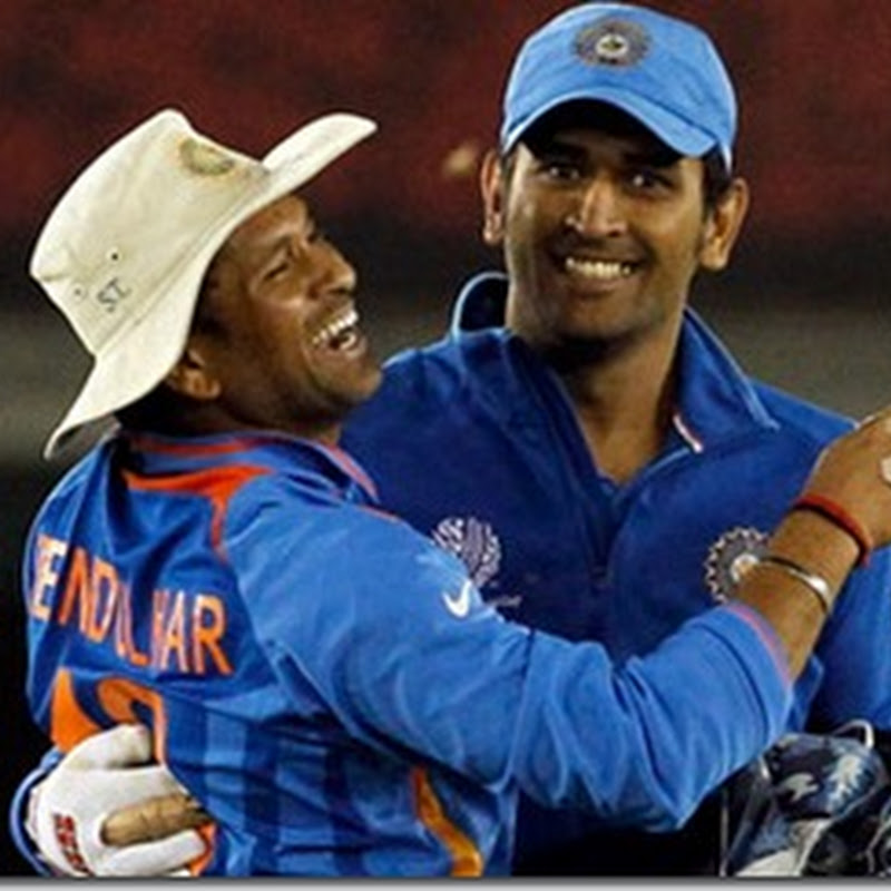 Learnt a lot from Sachin Tendulkar,will Miss him : Dhoni