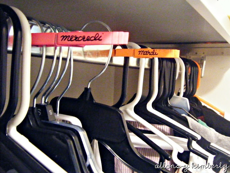 Closet Organization | allonsykimberly.com