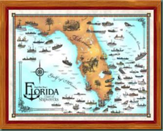 Shipwreck Chart Florida