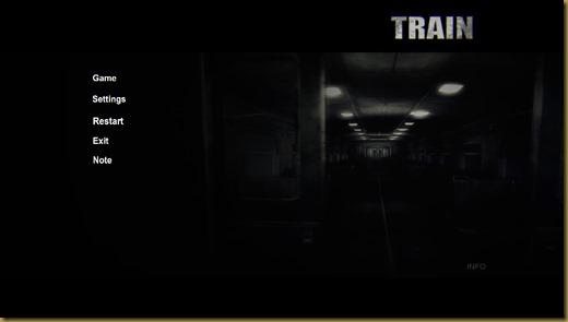 THE TRAINタイトル