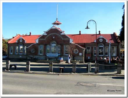 Motueka museum in the 1913 District High School building.