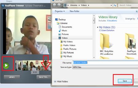 save video trim
