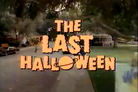 The Last Hallowen 1991 TV special 1991