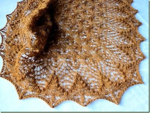 AutumnEchoFlower scarf
