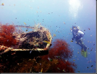 coron phillippines wreck diving remote sailboat 4