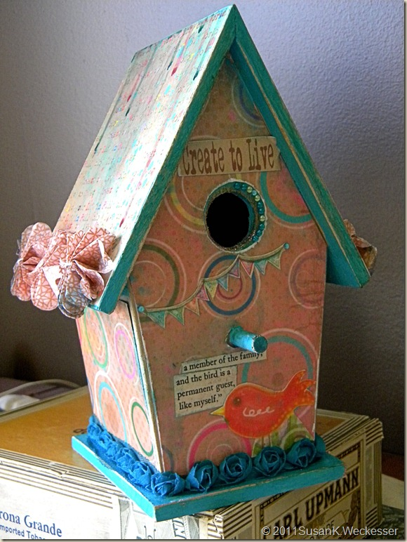 Create to Live Birdhouse 2