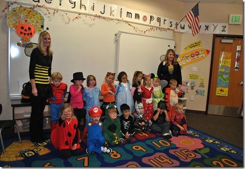 Joshua's preschool class