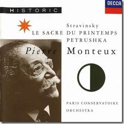 Stravinsky Consagracion Monteux Decca