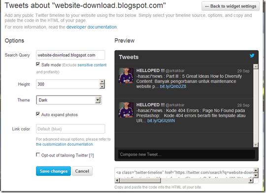 konfigurasi-widget-twitter-blog-website-design