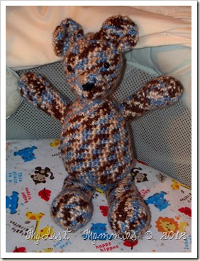 Crocheted Teddy