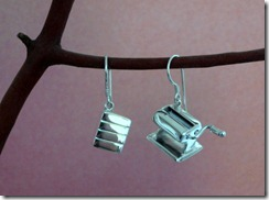 Pasta Machine & Clay Block Earrings 1