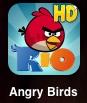 ipadアプリのAngry Birds Rio HDが糞面白い!