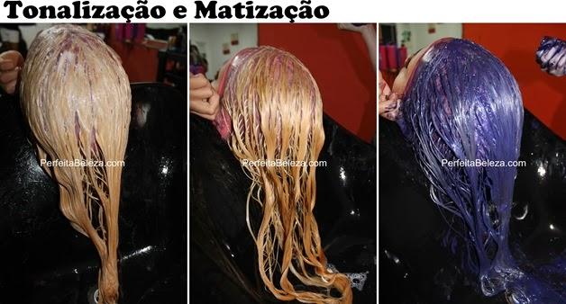tanalização com 989, matização com intensy color, desamarelador, cabelos lindos