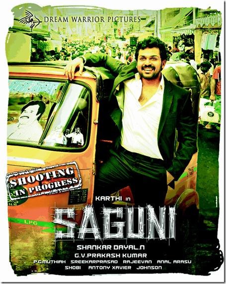 Karthi's Saguni Posters-2