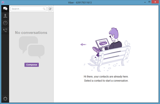Viber for Windows and Mac