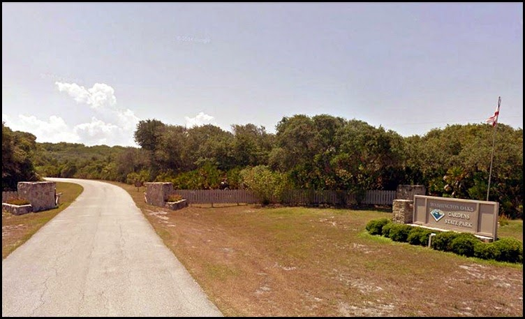 04 - Washington Oaks Gardens State Park Entrance