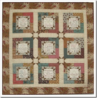 Love BOM Quilt