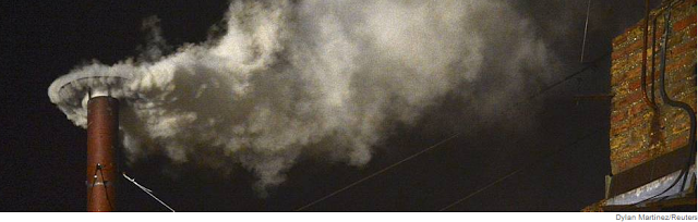 Fumaça branca no Vaticano