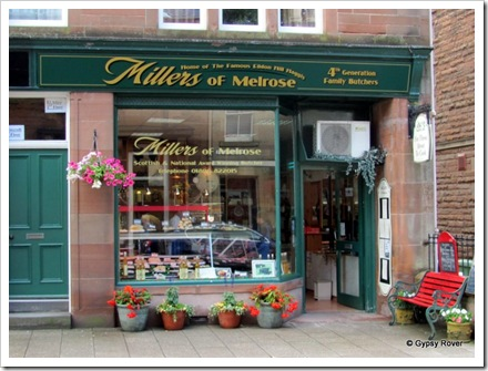 Home of the Haggis in Melrose.