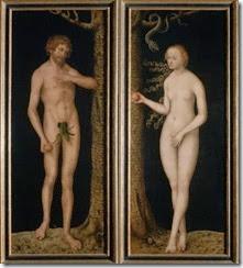 Adan y Eva Lucas Cranach