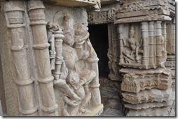 gwalior 069 temple Sasbahu, détails.