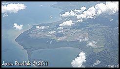 Flying into Santo Domingo