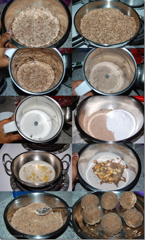 Aval laddu process