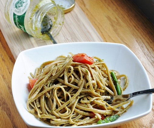 pesto linguine 224