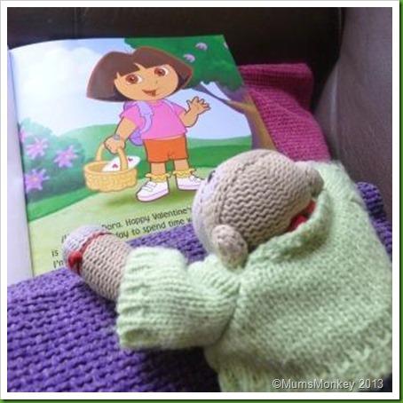 Dora loves boots.