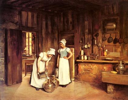 FrankAntoineBail-Two-Milkmaids-1906-1