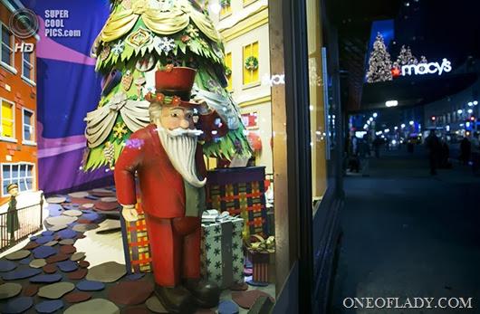 Fashion Holiday Windows