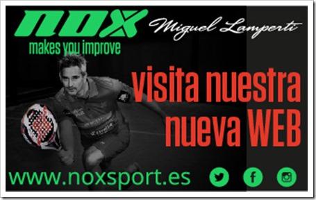 La firma NOX renueva su imagen y actualiza su propia página web.