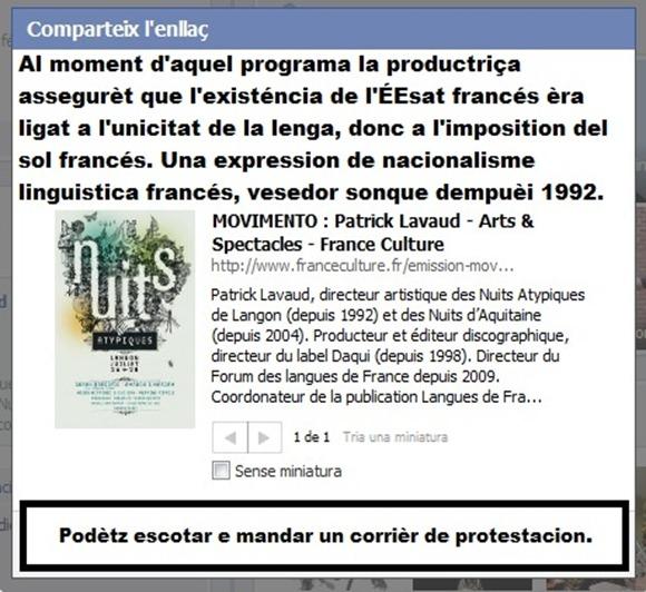 Programa de France Culture Movimento