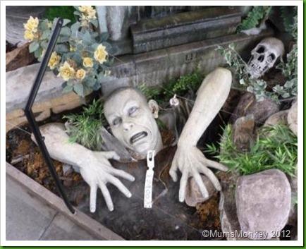 zombies at Hollybush